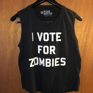 Size L Tank Halloween Zombie Hot Topic
